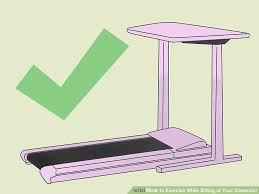 Desk Exercises At Work 3 Ways To Exercise While Sitting At Your Computer Wikihow