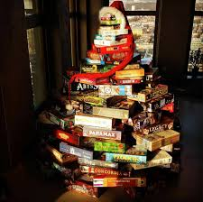 best board game christmas trees ideas with tabletop xmas gifts