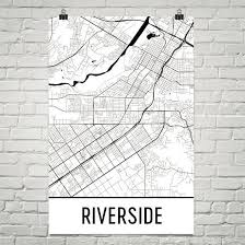 riverside map riverside gifts and riverside decor from modern map