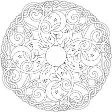 stunning design sun and moon coloring pages 6493 coloring pages