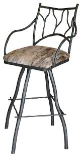 Bar Stool With Arms Large South Fork Branch 30