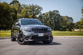 monster jeep grand cherokee review 2017 jeep grand cherokee srt canadian auto review