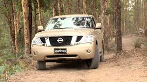 nissan patrol y62 2013 track test youtube