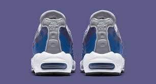 grey blue nike air max 95 wolf grey blue nebula purple slate white aj2018