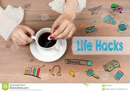 Coffee Hacks by Life Hacks Coffee Cup Top View On Wooden Table Backgroundr Stock
