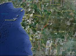 Gabon Map Gabon Blogs From Betty U0027s Bay