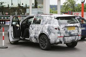 land rover discovery inside spyshots 2015 land rover discovery sport interior autoevolution