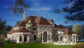 luxury home plans european french castles villa and mansion houses