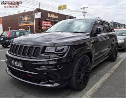 jeep grand cherokee gray jeep grand cherokee kmc km677 d2 wheels gloss black
