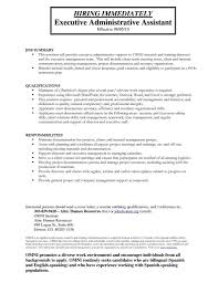 Administrative Assistant Resume Example by Sample Administrative Assistant Resumes Free Resume Example And