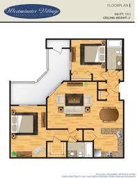 hart house floor plan community member fees westminster village