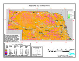 Nebraska Usa Map by Wind Power In Nebraska Wikipedia