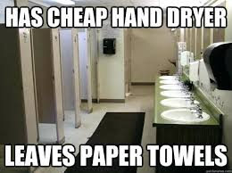 Hand Dryer Meme - bathroom meme public bathroom meme memento bathroom range