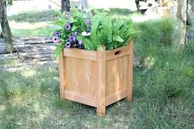 large wooden planters how to build wood planter box tall