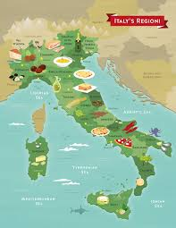 Map Of Florence Italy Illustrated Food Map Of Italy Interesting Maps Of Italy