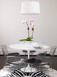 Tulip Table And Chairs Farmhouse Dining Table With Tulip Chairs And Dalson Hanging Shade