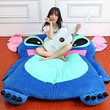 anime stitch sleeping bag giant soft plush soft cartoon stitch