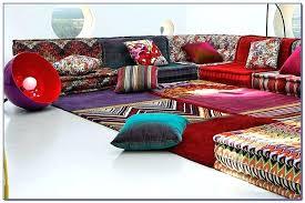 mah jong sofa modular sofa contemporary fabric 7 and up by roche