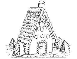 house to draw learn how to draw gingerbread house houses step by step