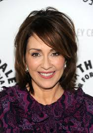 medium length layered hairstyles round faces over 50 patricia heaton short bob hairstyle for women over 50s patricia