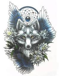 wolf dreamcatcher temp