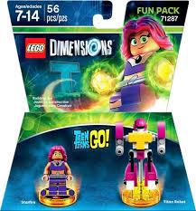 lego dimensions teen titans fun pack starfire titan