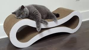 Cat Lounge Scratcher Deluxe Cat Scratcher Lounge By Petfusion Gadget Flow