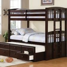 Bunk Bed With Steps Loft Bed With Desk On Top Foter