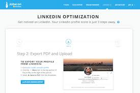How To Upload Resume To Linkedin Jobscan Linkedin Optimization A Complete Guide Jobscan Blog
