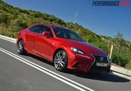 lexus used car australia 2014 lexus is 350 f sport review video performancedrive