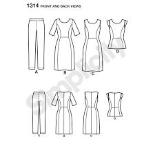 pattern for misses u0027 dress u0026 sportswear cynthia rowley collection