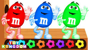 learn colors with m ms xylophone finger family