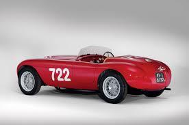 first ferrari race car 1948 ferrari 166 inter spyder corsa u2013 build race party