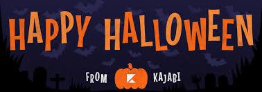 happy halloween from kajabi