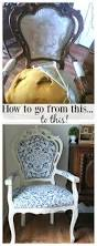maison decor how to reupholster the easy way my french chair