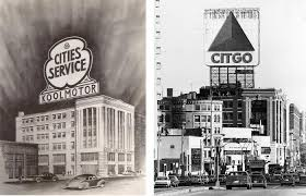 what color are guide signs the untold story of boston u0027s iconic citgo sign the boston globe