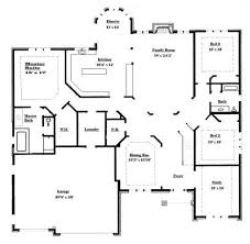 Ranch Style House Plans With Basement by Ranch Style Floor Plans Plan House Home With Basements Bungalow
