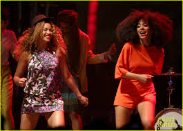 Beyonce Coachella by Beyonce Joins Sister Solange Knowles On Stage At Coachella Watch