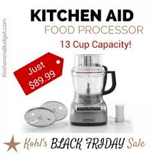 best black friday deals kitchen kohl u0027s 2015 black friday sale is live best deals round up