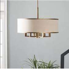 Chandeliers With Lamp Shades Chandeliers Wayfair