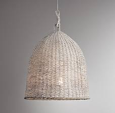 Wicker Pendant Light A Roundup Of Basket Weave Pendant Lights That Telegraph Summer