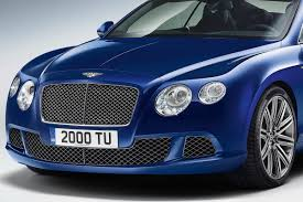 bentley coupe blue new 2013 continental gt speed coupe with 616hp is fastest