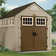 Backyard Storage House Wooden Vinyl Or Metallic Storage Sheds Pickndecor Com