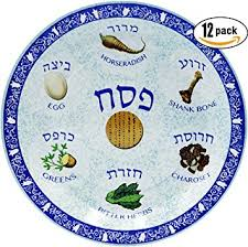 what is on a passover seder plate passover seder plate design paper goods party set