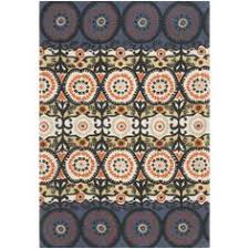 Black And White Rug Overstock Black And Red Floral Area Rug 5 U00273 X 7 U0027 Overstock Com Shopping