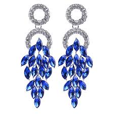 blue drop earrings blue ring drop earrings laviva bridal concepts laviva