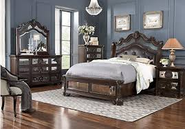 glass mirror bedroom set kari likelikes glass castle king mirror bedroom set