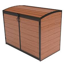 outdoor storage box bunnings outside bins on modern home