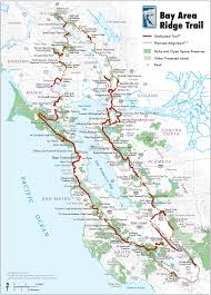 Bay Area Map Don Nolan Tackles California U0027s Bay Area Ridge Trail Bikepacker