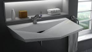 solid surface bathroom sinks solid surface sink design for modern bathroom stylehomes net